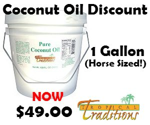 Feeding Coconut Oil to Horses…Without Going Broke!